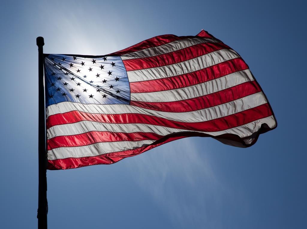 (Foto: US flag courtesy of Wikipedia.org)