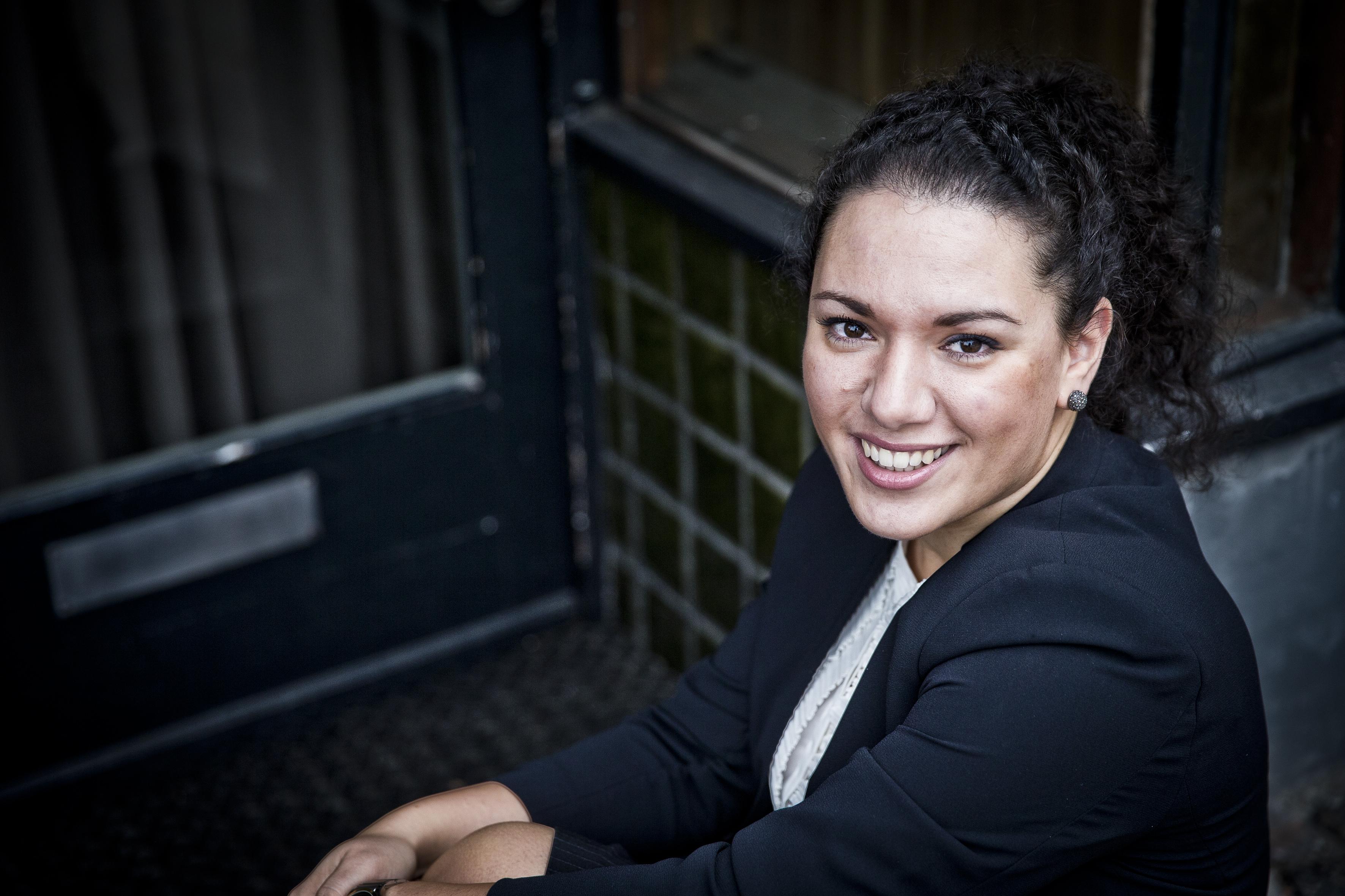 Pardis Kaskin, 31 år og ny general manager for 5-stjernede Herman K. Foto: Brøchner Hotels.