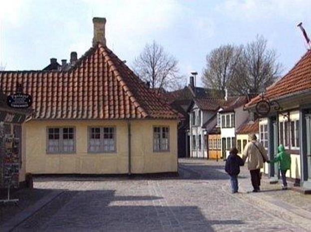HC Andersens Hus i Odense (Foto: Hans Jørn Storgaard Andersen   CC 3.0)