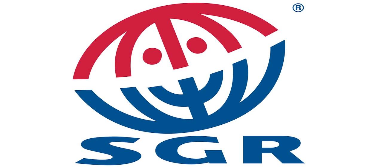 Logoet for SGR, Stichting Garantiefonds Reisgelden, den hollandske modsvarighed til Rejsegarantifonden i Danmark.