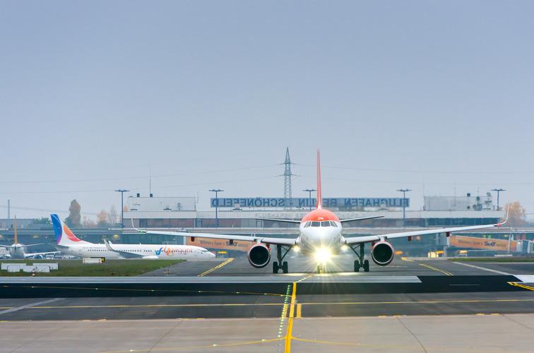 Der kan være stor forskel på søgeresultaterne efter billige flybilletter. Pressearkiv-foto fra Schönefeld-lufthavnen i Berlin.