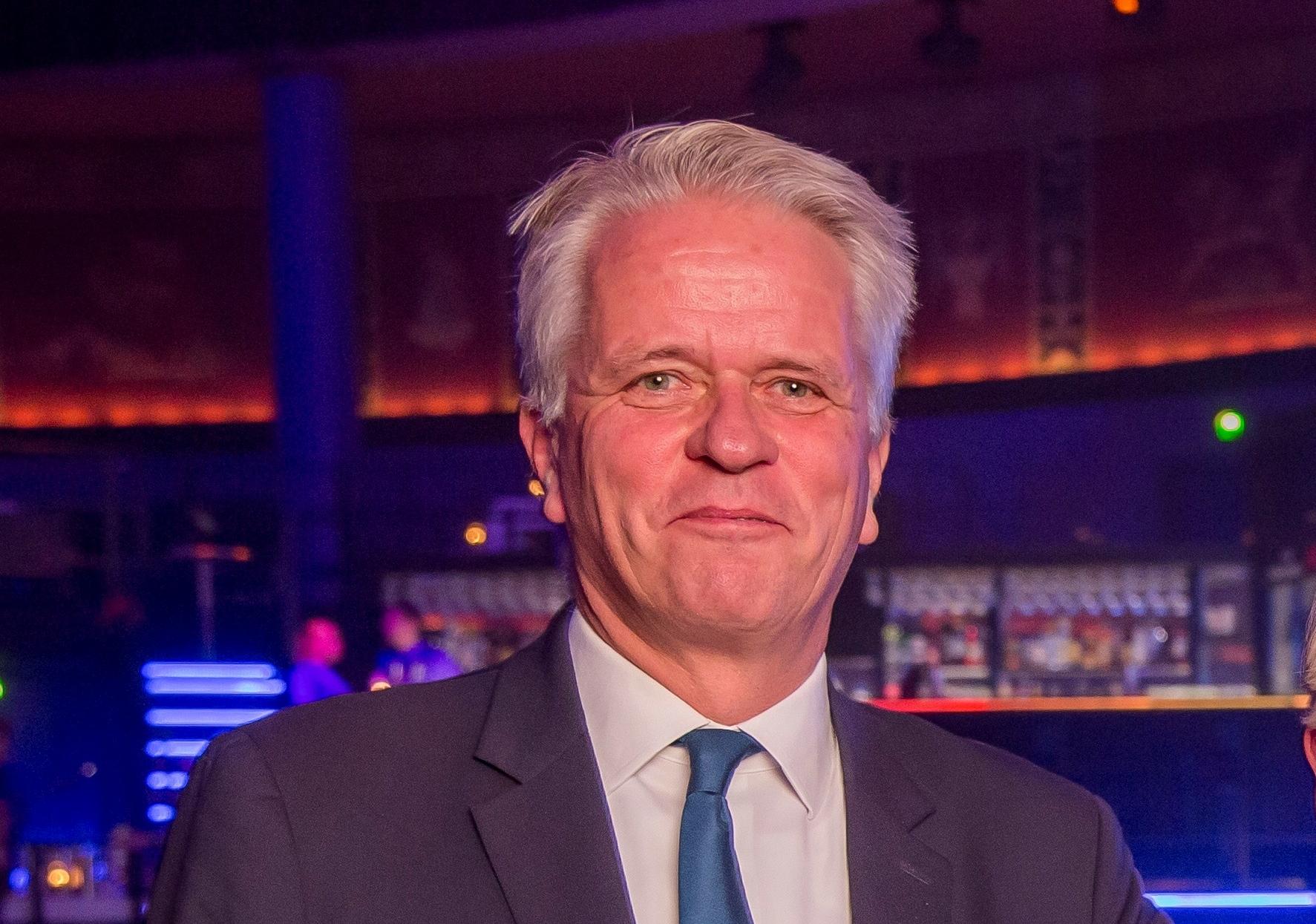 Den administrerende direktør for Danmarks Rejsebureau Forening, Lars Thykier, der torsdag den 4. oktober runder de 60 år. Foto: Michael Stub.