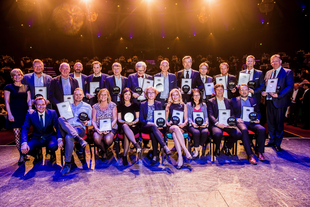 Tryk for stort format. Vinderne af årets Danish Travel Awards 2018. Foto: MIchael Stub.