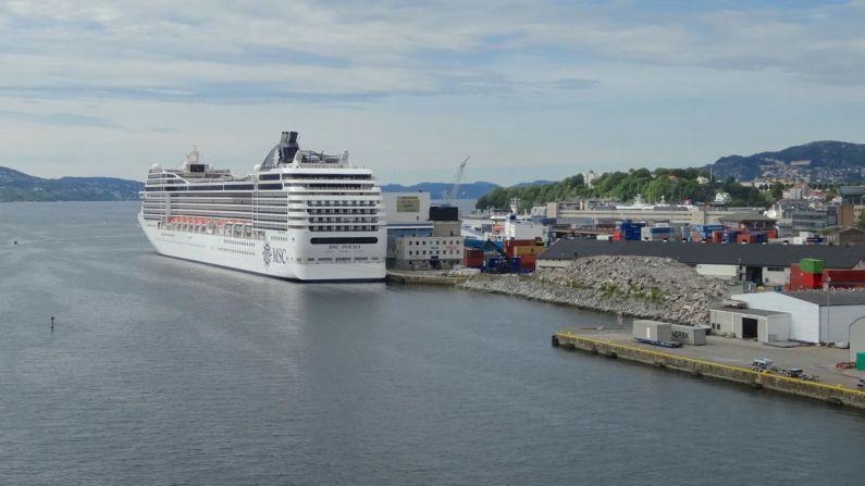 Dokken Cruise Ship Terminal i Bergen. (Foto: Bergen-guide.com)