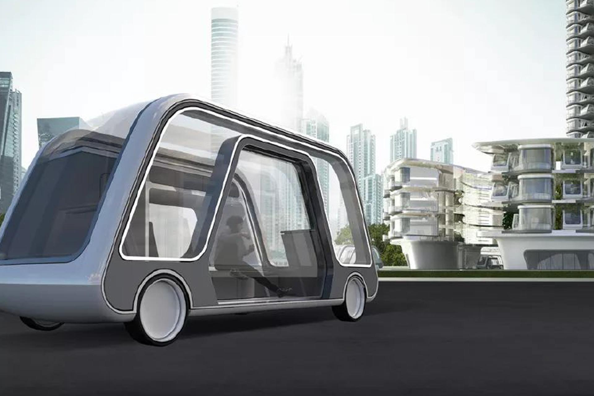 Teknologi og digitalisering er blandt andet på agendaen ved Horestas årsmøde. Blandt de mange muligheder er fremtidens selvkørende hotelværelse, The Autonomous Travel Suites – en del af et Autonomous Hotel. Illustration via Innovation Lab.