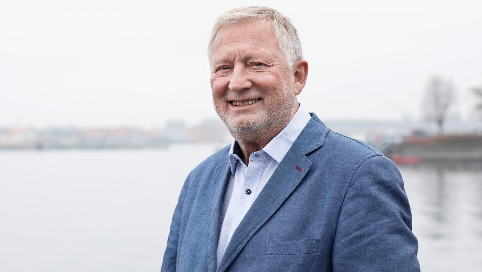 Per Cilliborg Schmidt, initiativtageren til Cruise Copenhagen Network, der blev året modtager af Maria-prisen fra Horesta. Foto via Horesta.