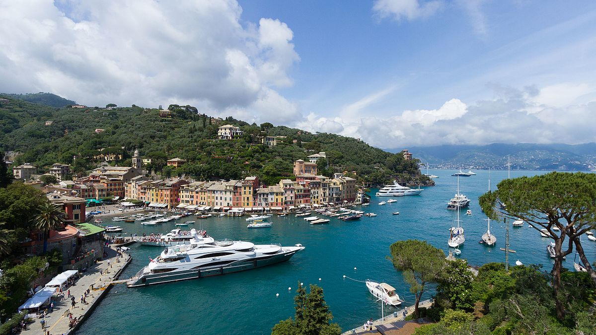 Havnen i Portofino (Arkivfoto: Pierre-Selim Huard   CC 4.0)
