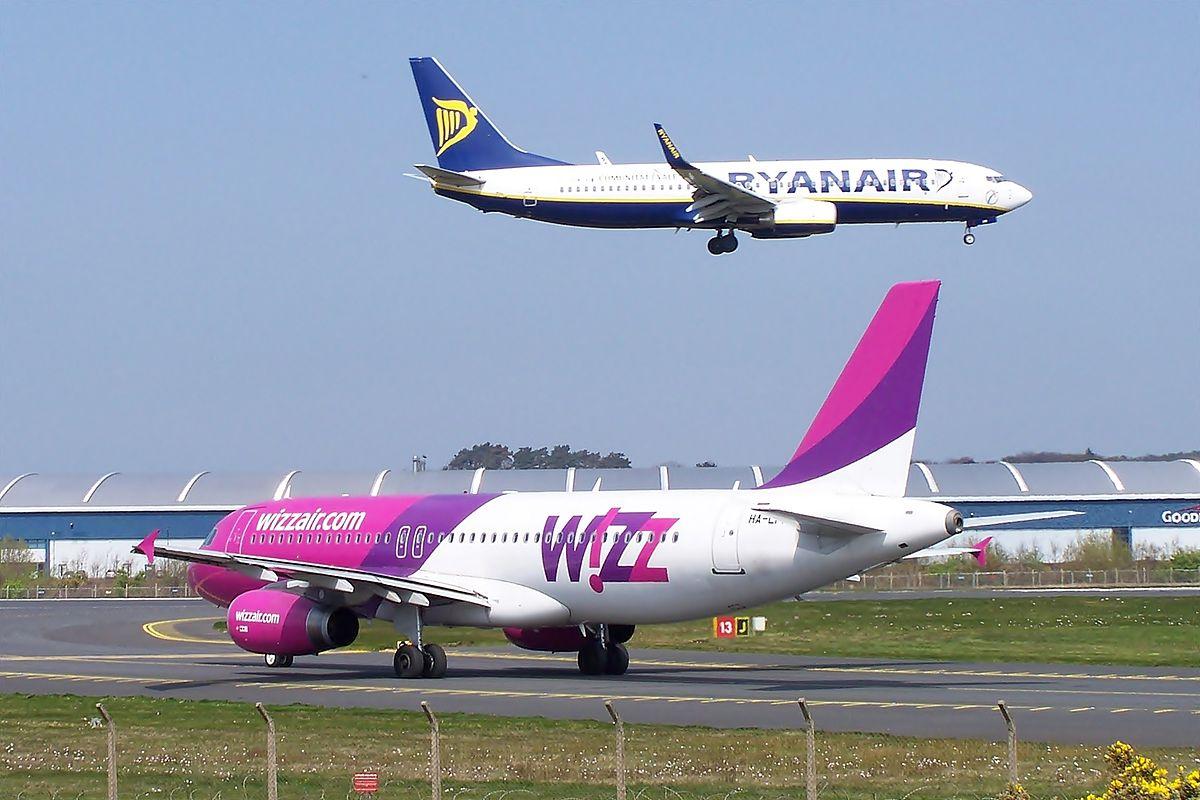 Ryanair og Wizz Air (Foto: Mark Harkin | CC 2.0)