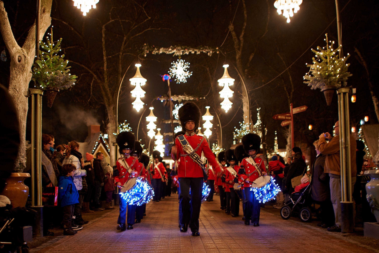 Tivoli Garden er også klar til Jul i Tivoli. Foto: Tivoli.