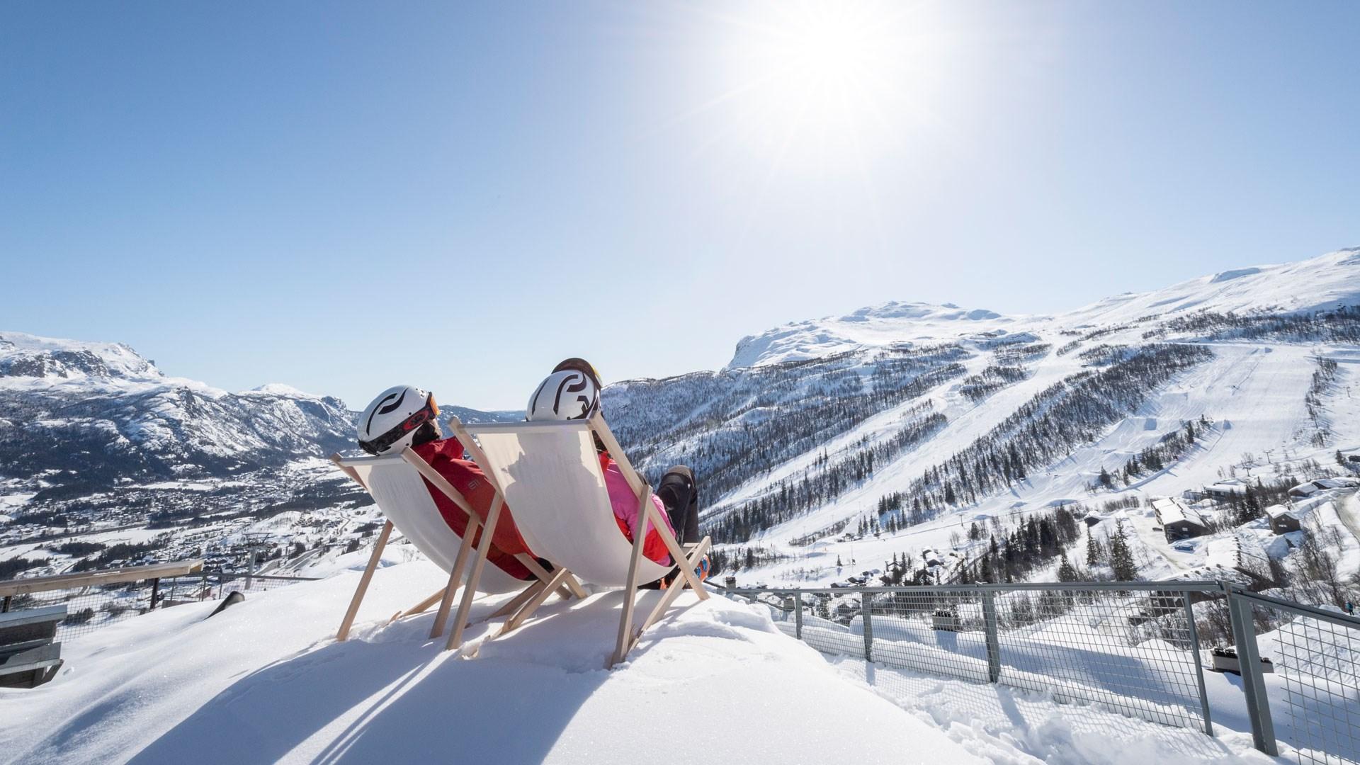 Solstole ved Hemsedal (Foto: Skistar(PR)