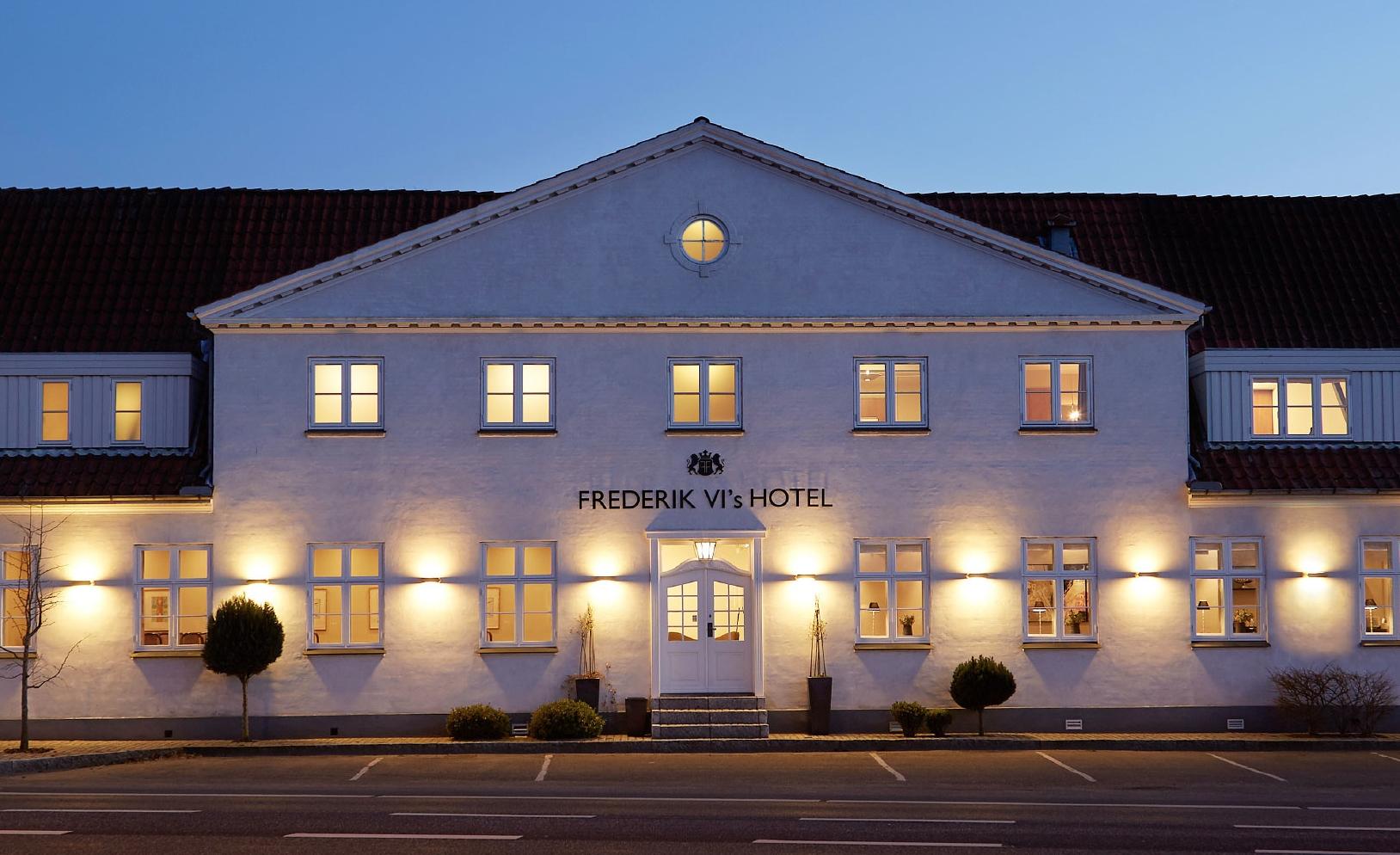 Frederik VI's Hotel i udkanten af Odense har 62 værelser og er blandt de nyeste medlemmer hos Small Danish Hotels. Foto: Frederik VI's Hotel.