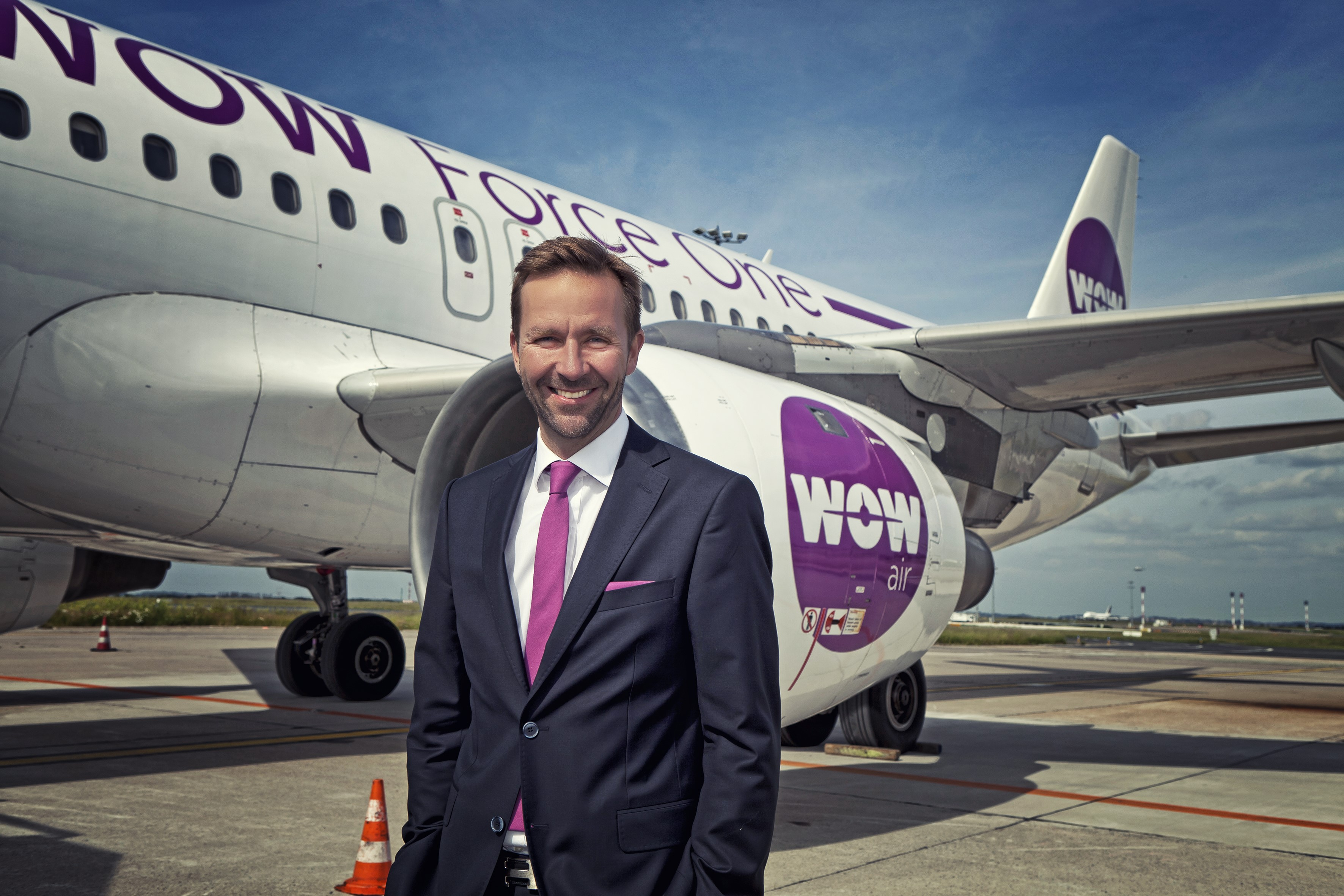 Skuli Mogensen der i 2012 startede islandske Wow Air, som Icelandair nu overtager. Foto: Wow Air.
