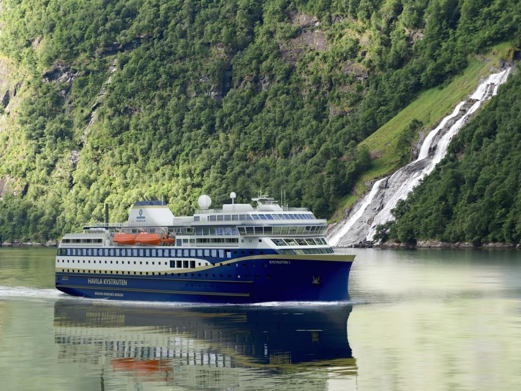 Skib fra Havila Kystruten (Foto: Havyard Group/PR)