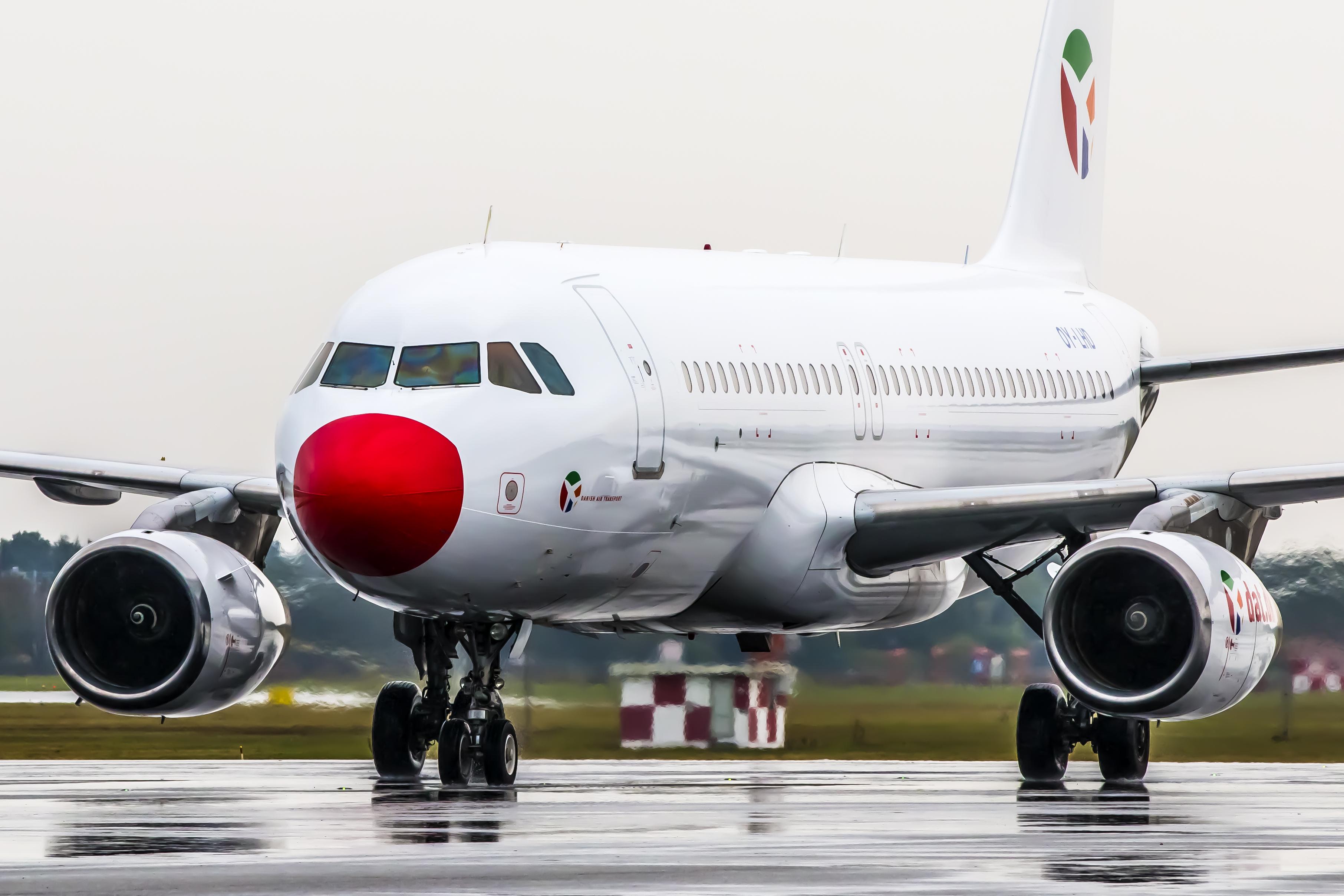 Danish Air Transport bruger blandt andet Airbus A320 til sine charterflyvninger. (Arkivfoto: © Thorbjørn Brunander Sund, Danish Aviation Photo)