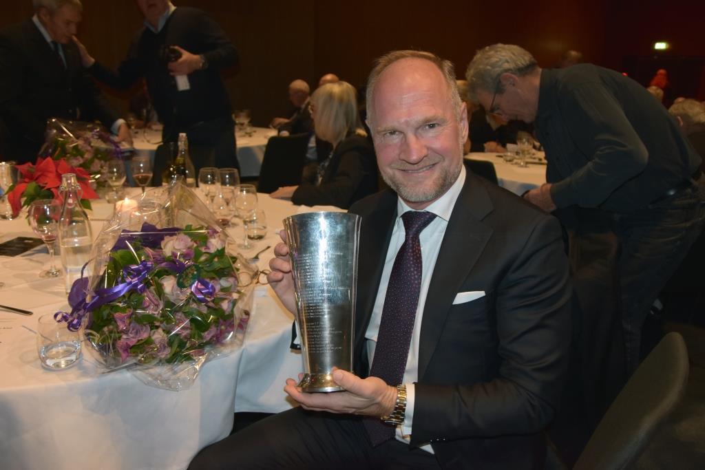 Adm. direktør i Københavns Lufthavn, Thomas Woldbye, føler sig hverken som helt eller det modsatte. (Foto: Preben Pathuel )