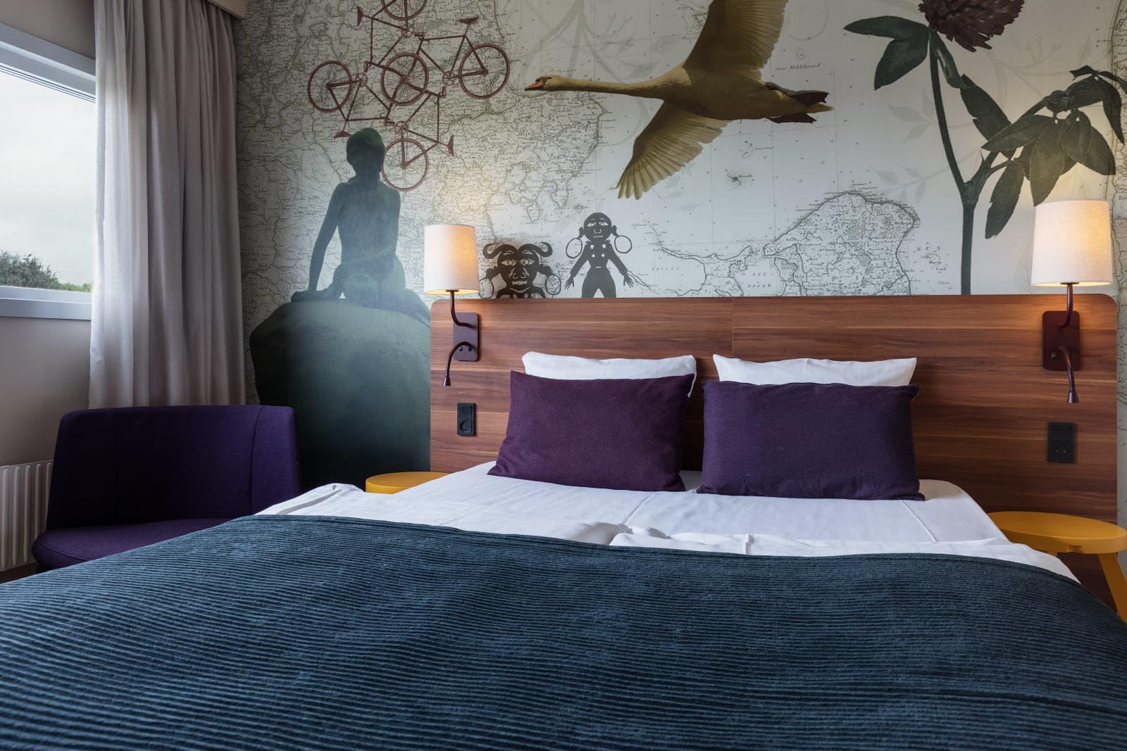 22 af de 26 danske Scandic-hoteller er omfattet af den nye aftale fra Statens og Kommunernes Indkøbsservice; her foto fra Scandic-hotellet i Hvidovre. Foto: Scandic.