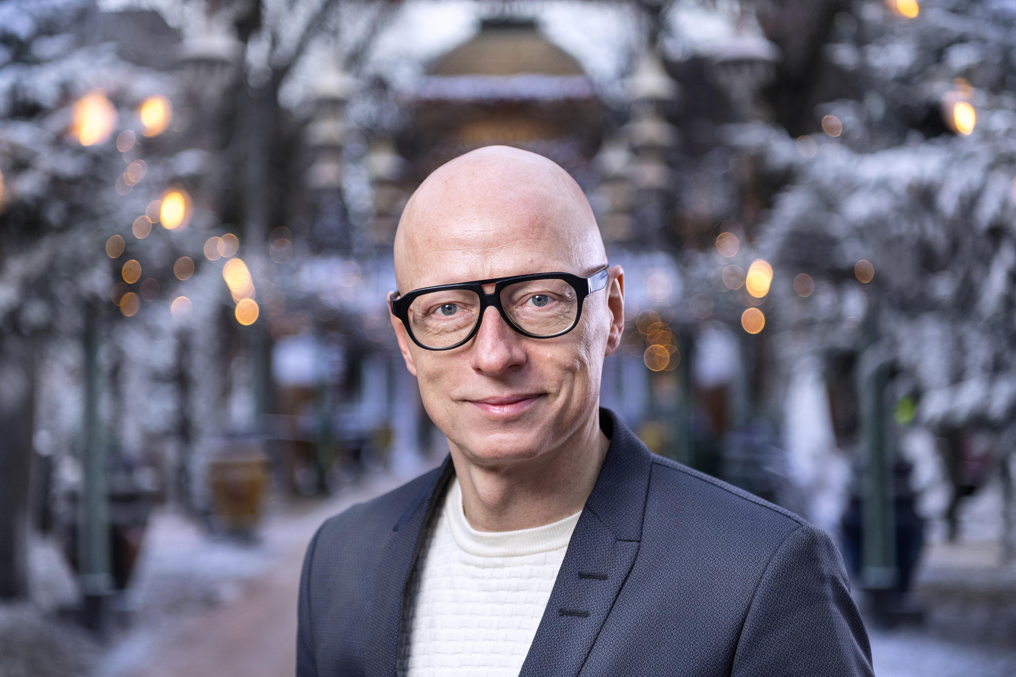 Frederik Wiedemann er ny underdirektør for Kultur i Tivoli. Foto: Bax Lindhardt.
