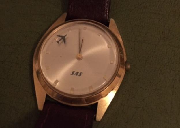 Det legendariske SAS-ur, der var en gave til de ansatte. (Privatfoto)