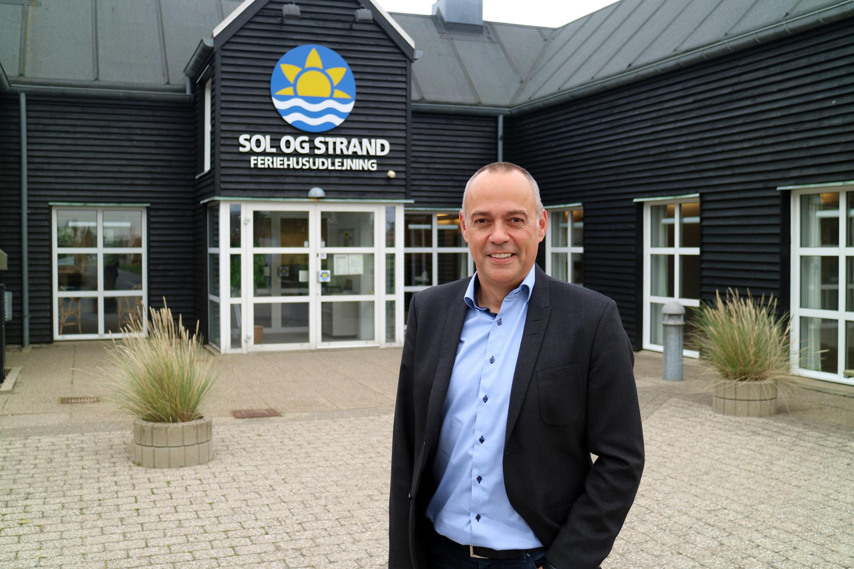 Per Dam Jensen stopper som administrerende direktør for Fårup Sommerland for at tiltræde tilsvarende stilling hos Sol og Strand Feriehusudlejning. PR-foto.