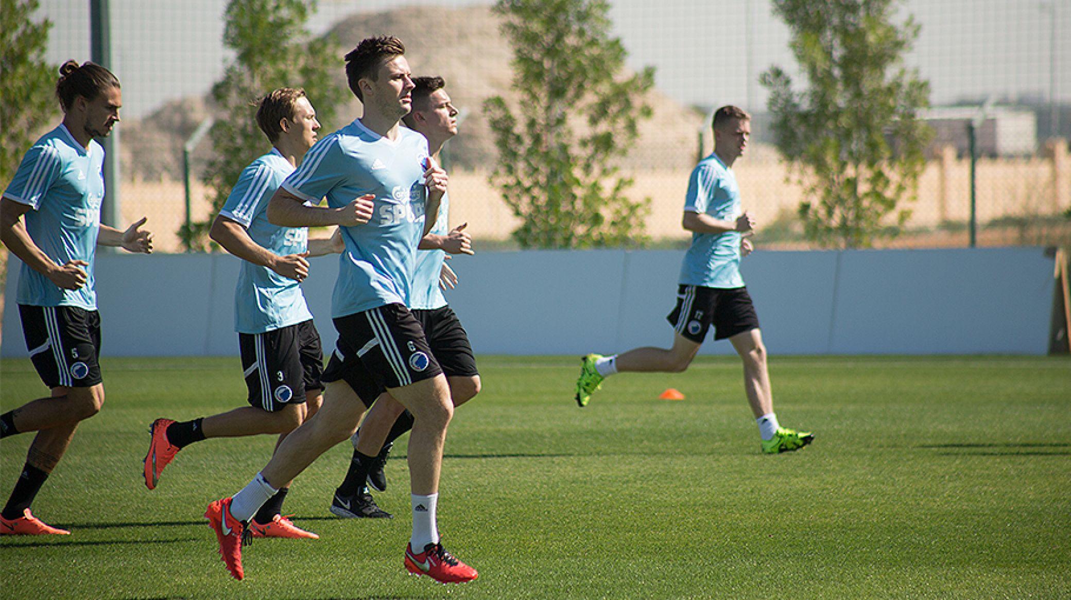 FC Københavns skal på træningslejr  i Dubai (Foto: FCK.DK)