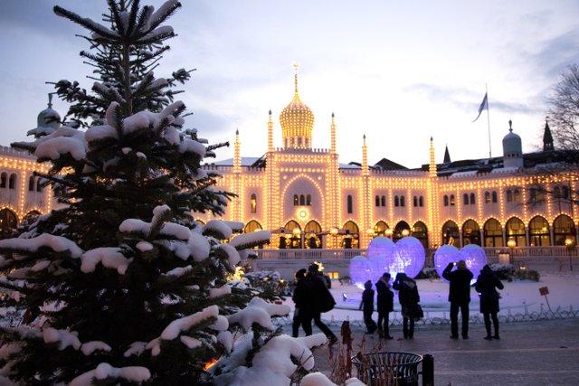 Jul i Tivoli (Foto: VisitDenmark | Kim Wyon)
