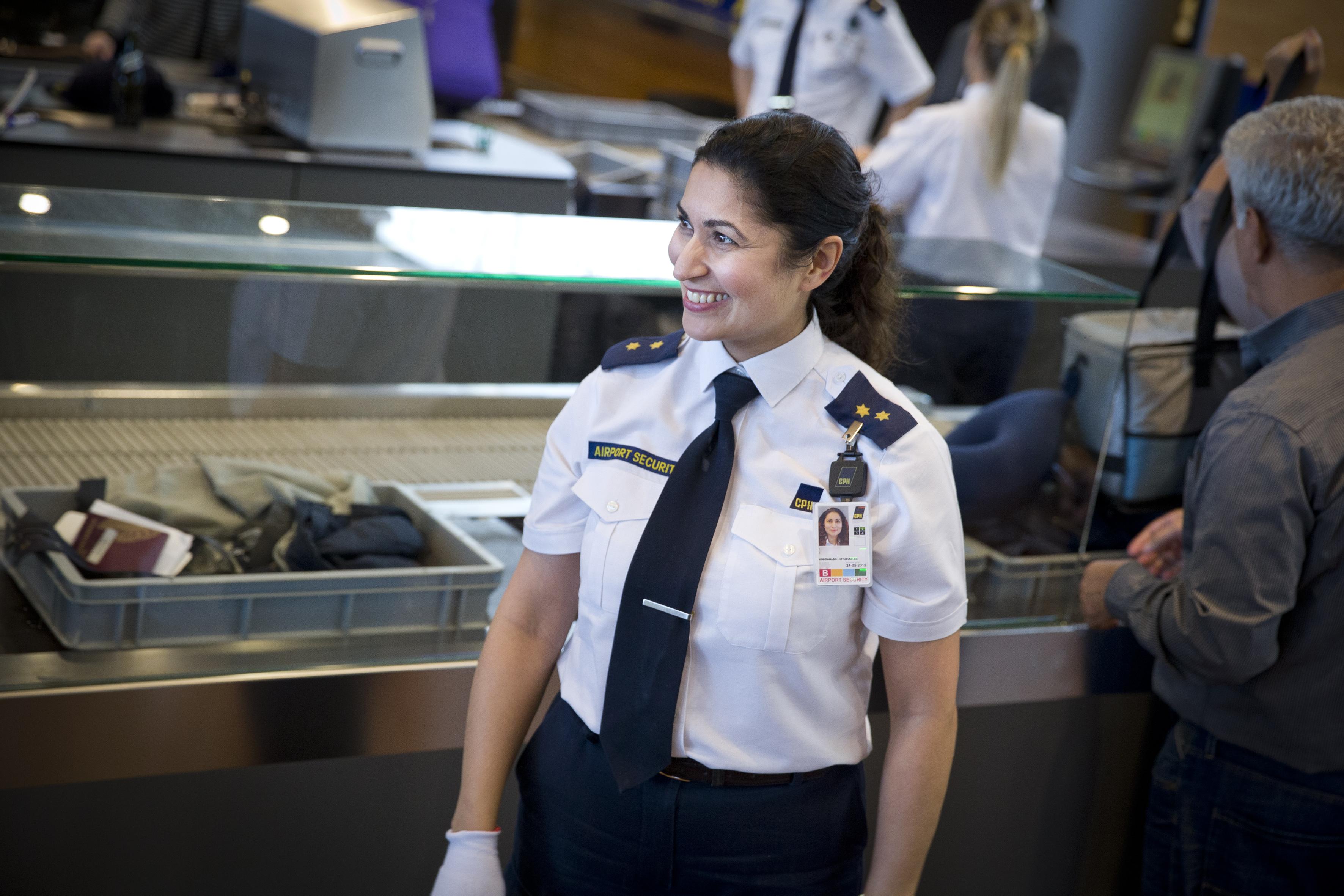 CSC, den centrale sikkerhedskontrol i Københavns Lufthavn, havde sidste år en gennemsnitlig ventetid på lige under fire minutter. Foto: Københavns Lufthavn.