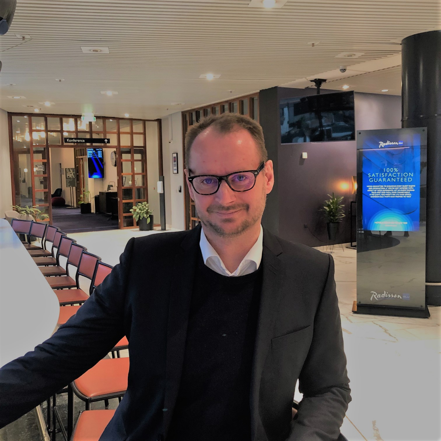 Kaj Berthelsen har netop fået nyt job hos Radisson Hotel Group med titel af Account Manager Western Denmark. Foto: Radisson Hotel Group.