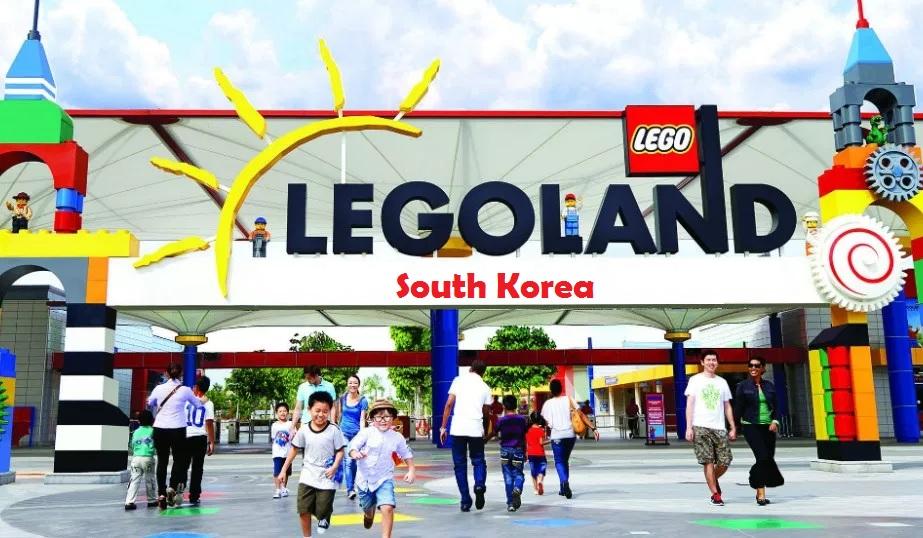 Der er endnu et Legoland på vej – denne gang i Sydkorea. Illustration via Merlin Entertainments.