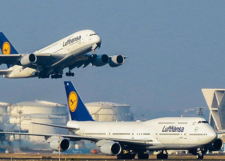 Lufthansa-gruppen er blandt de store aktører der ikke er med i den nye statslige aftale mellem Staten og Kommunernes Indkøbsservice og ti flyselskaber. Arkivpressefoto fra Lufthansa.