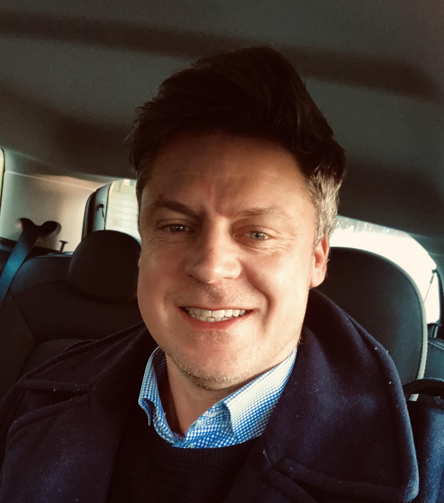 Rasmus Borup Dahl er fra i morgen, 1. februar, køreklar som ny ansvarlig for internationalt leisuresalg hos Europcar, Danmarks største biludlejningsfirma. Privatfoto.