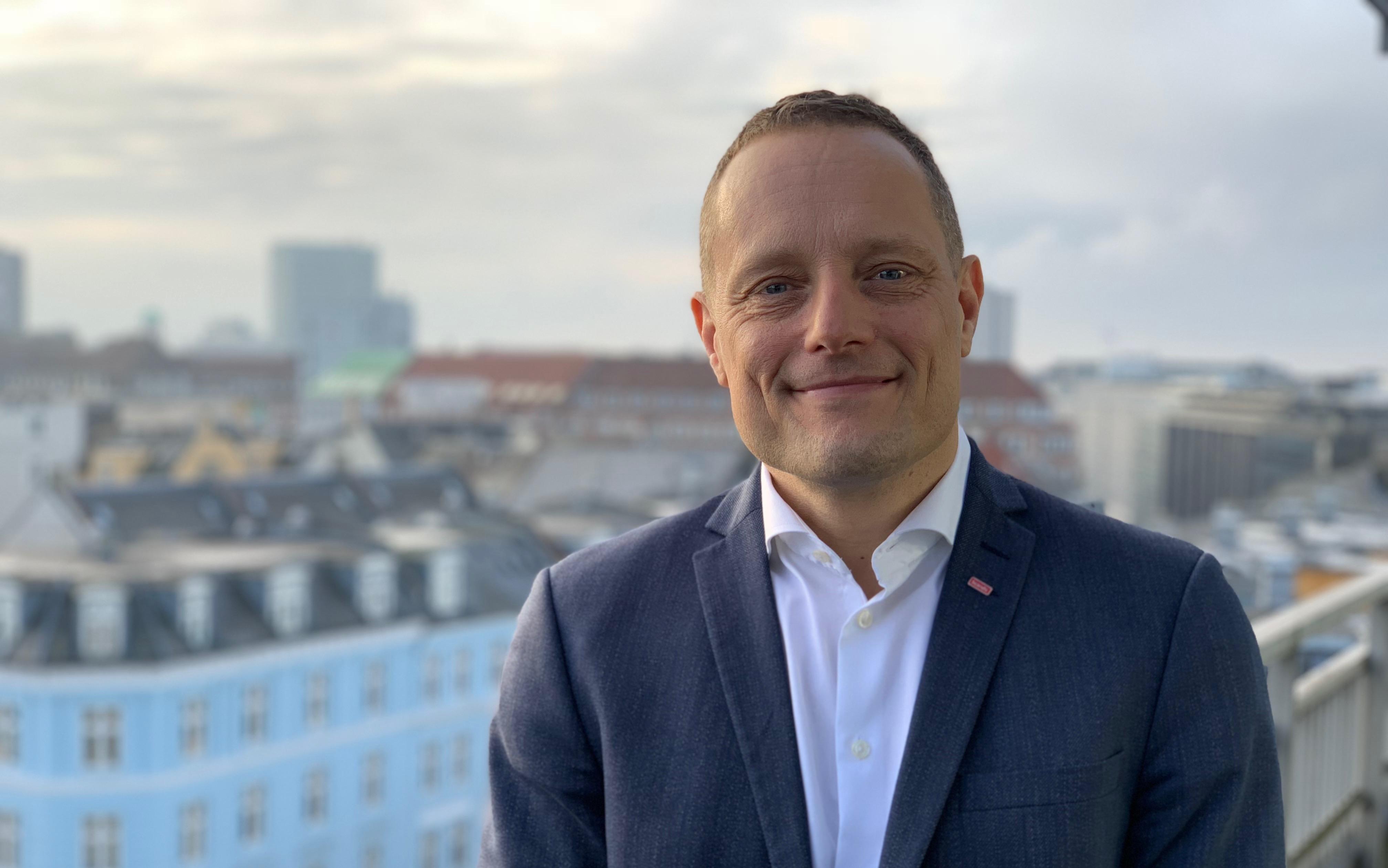 Søren Faerber er ny administrerende direktør for Scandic i Danmark, hvor han afløser Jens Mathiesen. Foto: DK Photo Express.