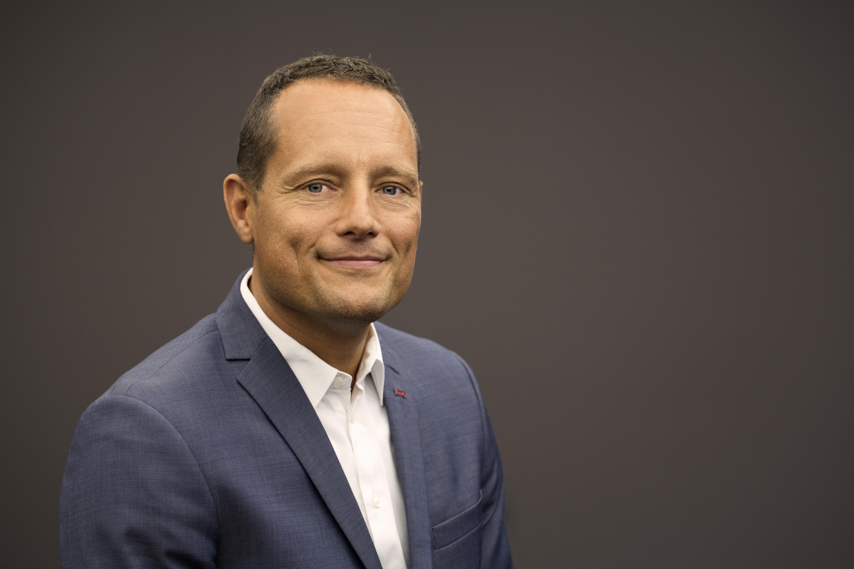 Søren Faerber, der netop er blevet administrerende direktør for Scandic, Danmarks største hotelkæde. Foto: Scandic.