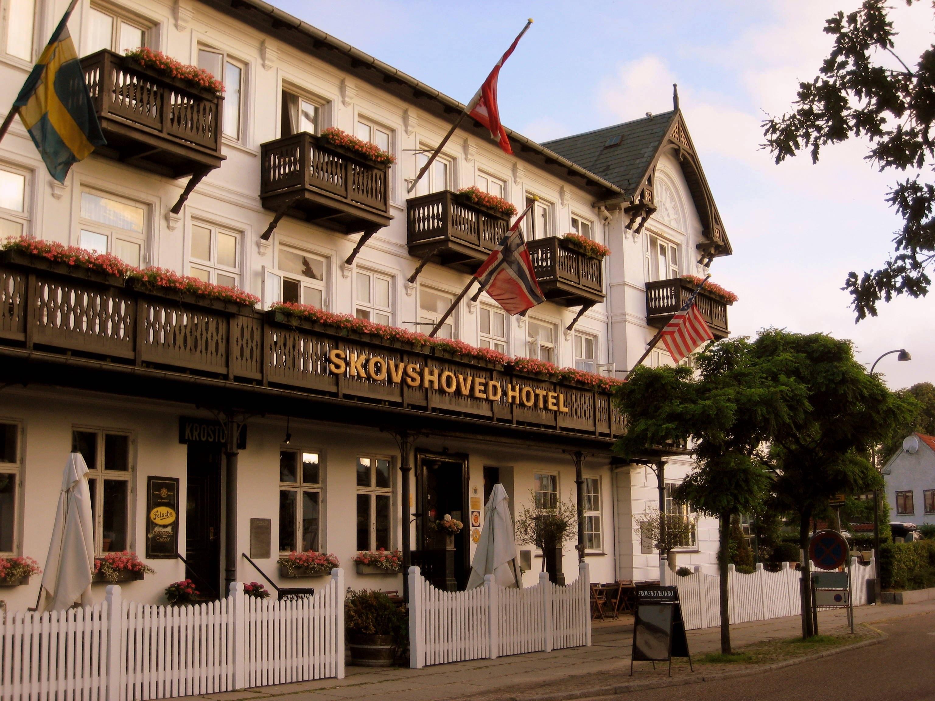 Skovshoved Hotel lidt nord for København er nyeste medlem af Small Danish Hotels. Pressefoto.