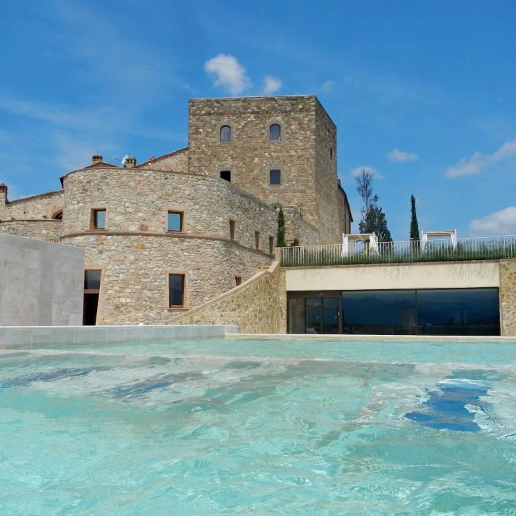 Castello di Velona i Toscana er et af de steder, Due Hospitality tilbyder sine MICE-kunder.