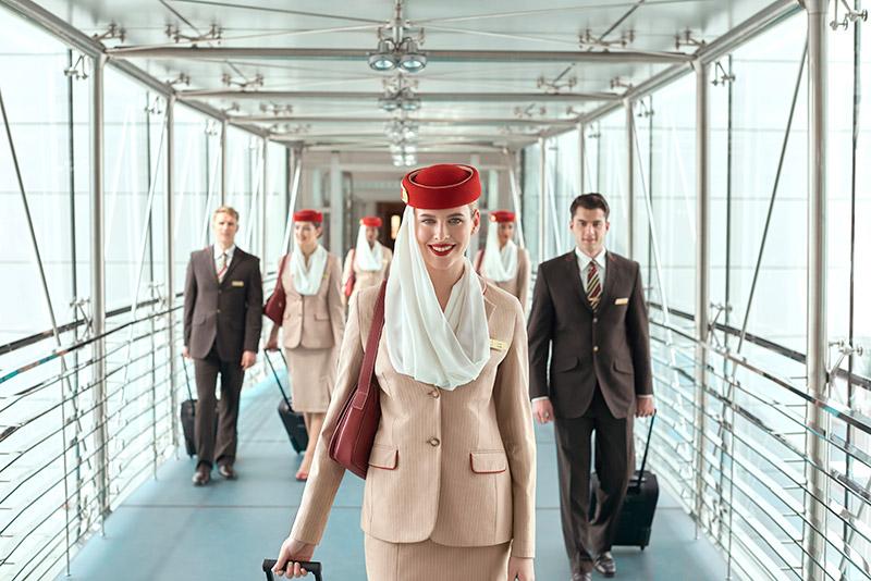 Emirates vandt den nye pris ved norske Grand Travel Award som Verdens Bedste Flyselskab. Pressefoto: Emirates.