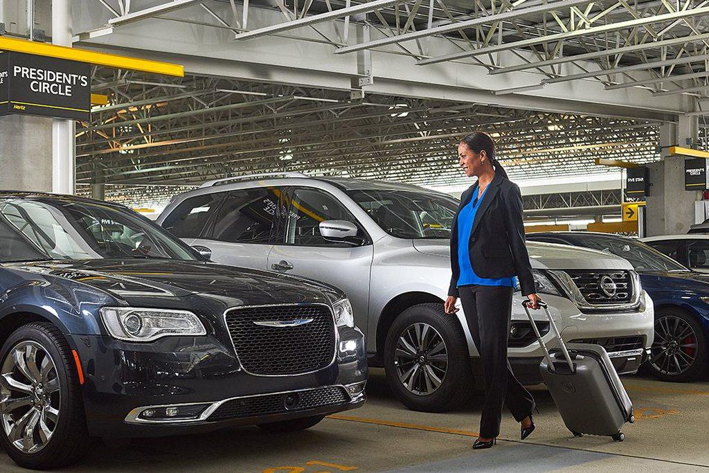 Hertz er et af de største biludlejningsfirmaer i Danmark. Pressefoto.