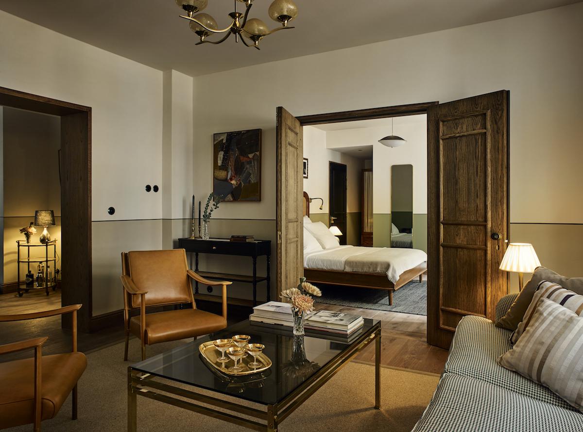 Hotel Sanders i København regnes som et af hovedstadens mest hippe nye boutiquehoteller. Foto: Kølpin Hotels.