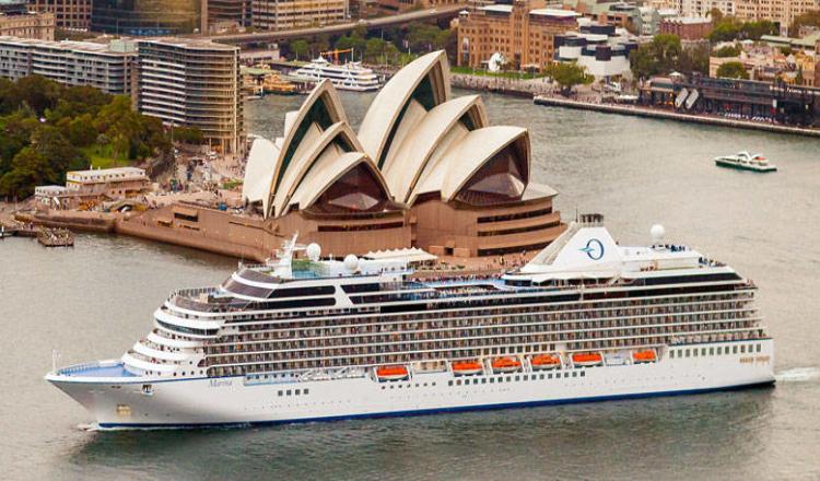 Oceania Cruises har foreløbig seks skibe, nu er der bestilt yderligere to. Arkivfoto.