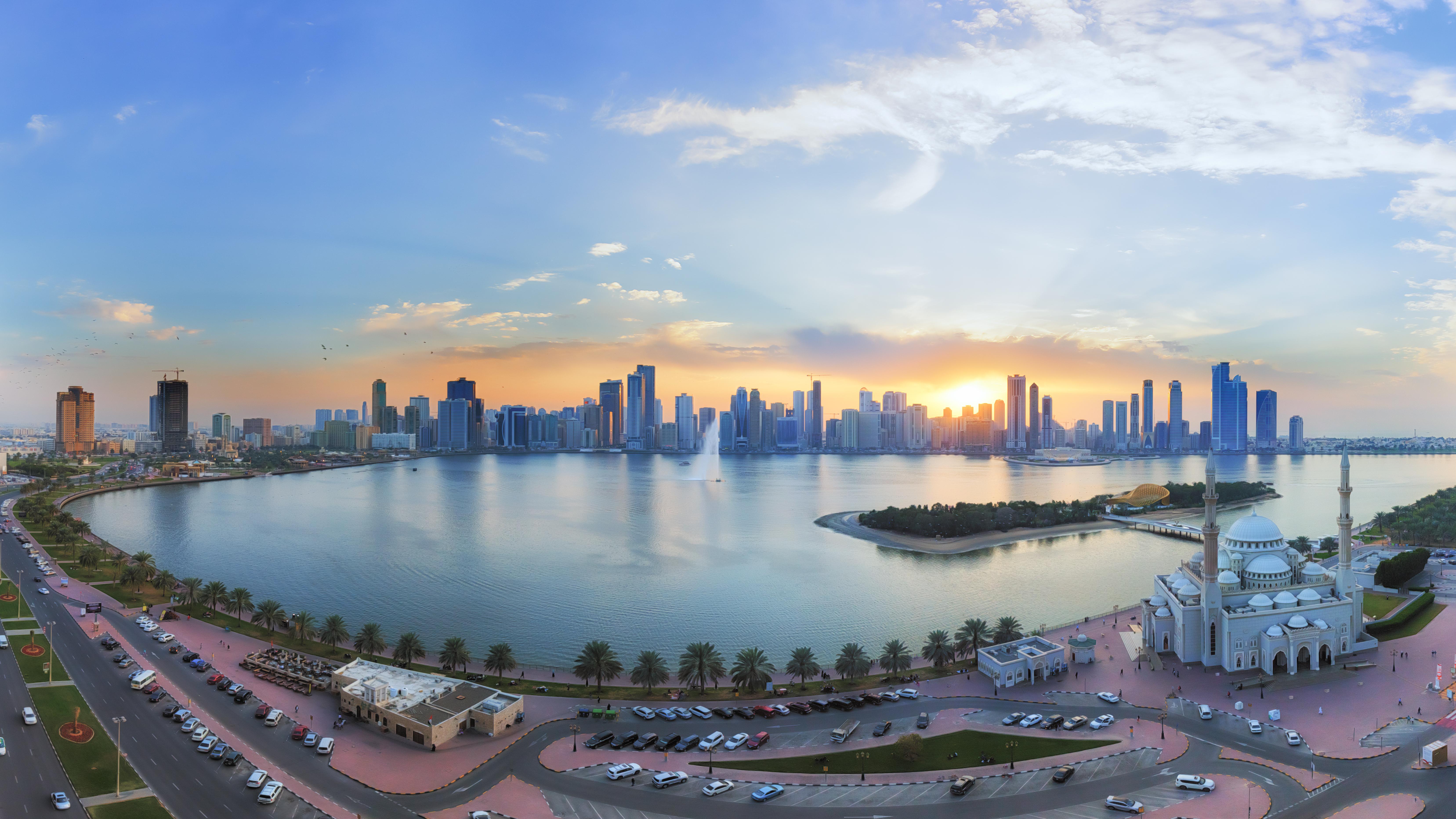 Sharjah, et af de syv medlemmer af De forenede Arabiske Emirater, vil gerne vise flaget mere tydeligt i Norden. Foto: Sharjahmydestination.ae