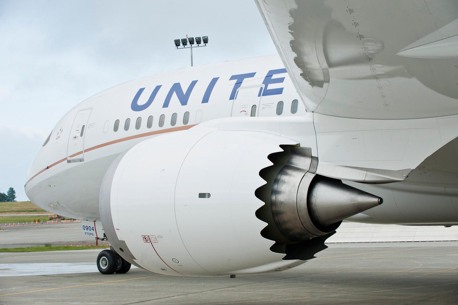 United Airlines har Apple som sin skønsmæssigt største kunde i San Francisco, her er det en Boeing B787 Dreamliner fra Star Alliance-medlemmet. Pressefoto: United Airlines.