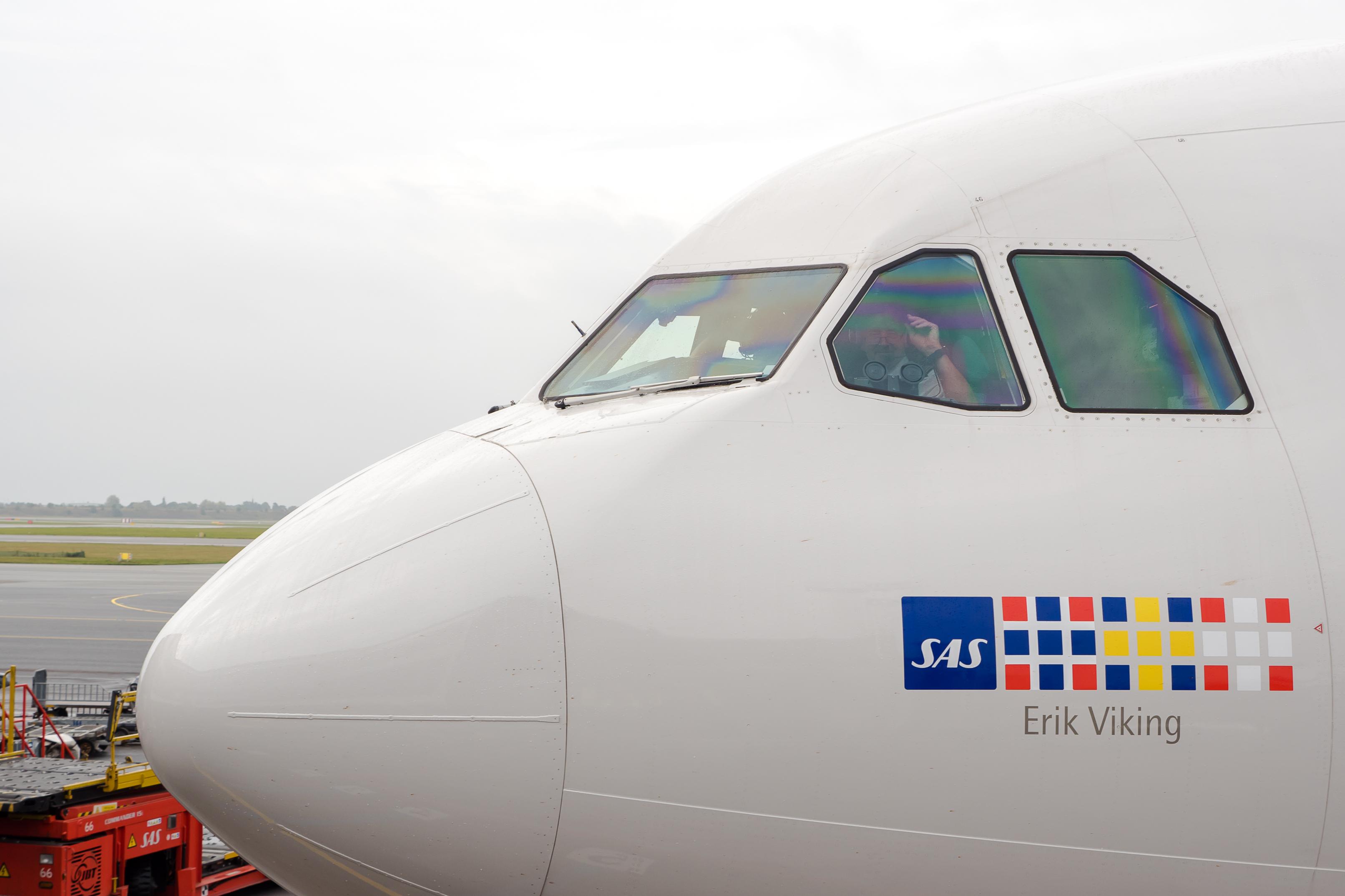 SAS blev eneste dobbeltvinder ved de årlige svenske Grand Travel Awards. Her arkivfoto fra Københavns Lufthavn.