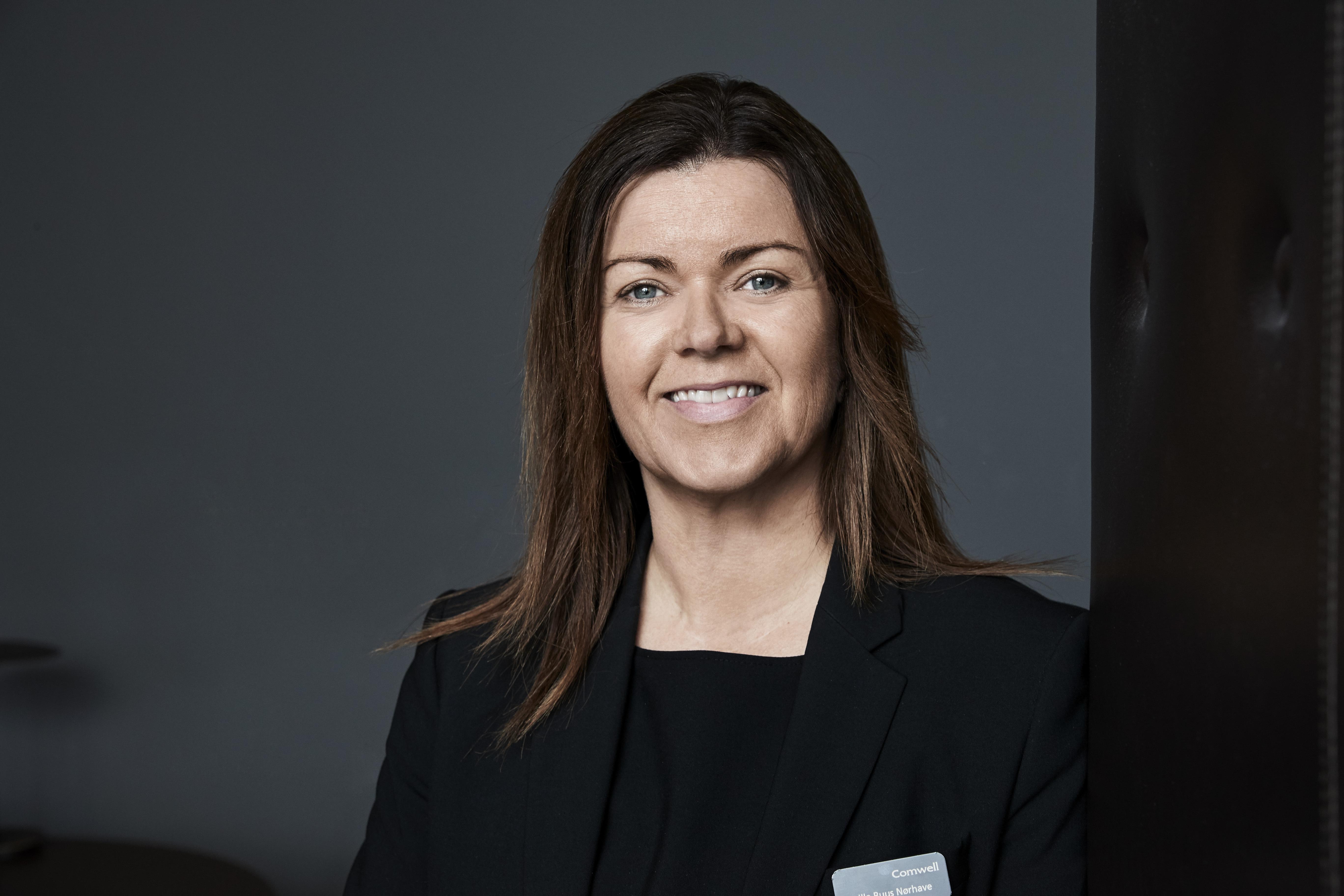 Camilla Buus Nørhave er rykket op fra at være direktør for Comwell Kolding til at være driftschef i den store danske koncern. Foto: Comwell.