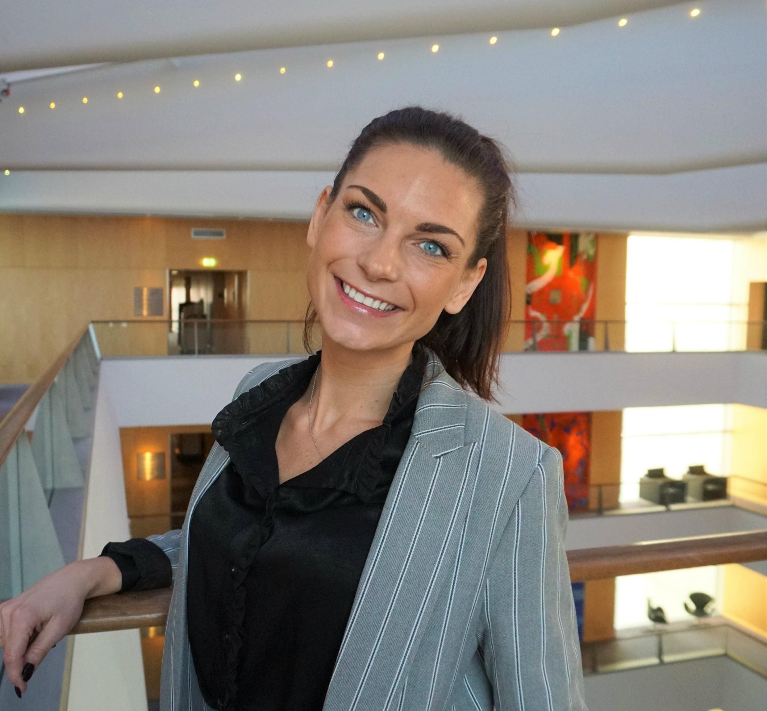 35-årige svenske Lisette Jönsson er netop begyndt som driftsdirektør for Københavns næste luksushotel, Villa Copenhagen, der åbner om et års tid. Foto: Nordic Hotels & Resorts.