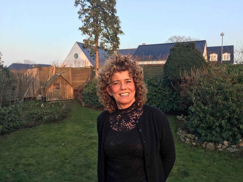 Pernille Hilker har netop fejret 30 år som travel manager i Nordea. Privatfoto.