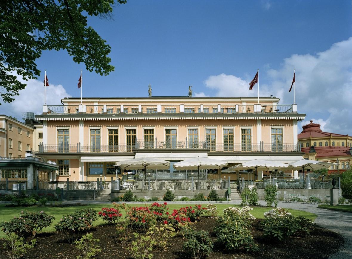 Det svenske firma Pop House AB med blandt andet Björn Ulvaeus i ejerkredsen overtager det nuværende Scandic Hasselbacken i Stockholm. Foto: Scandic Hotels Group.