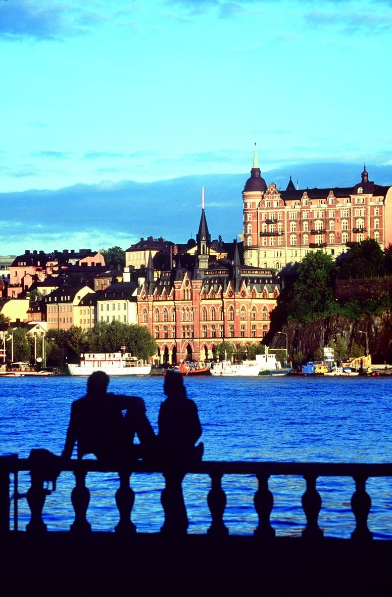 Danmark er tredjestørste leverandør af turister til Sverige. Sidste år blev det til 190.000 flere danskere overnatninger i Sverige sammenlignet med 2017, oplyser Visit Sweden. Pressefoto fra Stena Line.