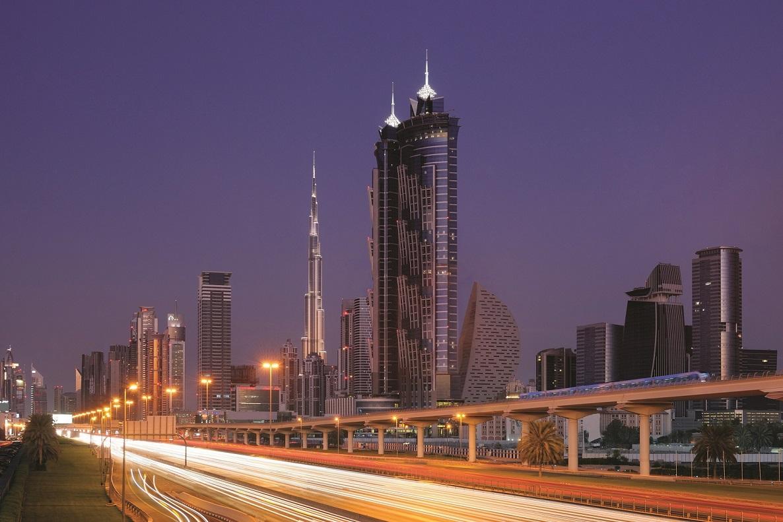 Dubai tiltrækker stadig flere internationale møder og events; emiratet er i 2020 vært for den store verdensudstilling EXPO. Pressefoto: Marriott.