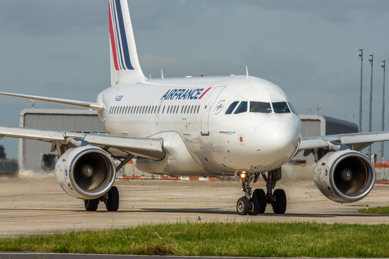 En Airbus A318 fra Air France, der blandt andet skal bruges til at betjene nogle af selskabets kommende sæsonruter under sommerprogrammet. Pressefoto: Air France.