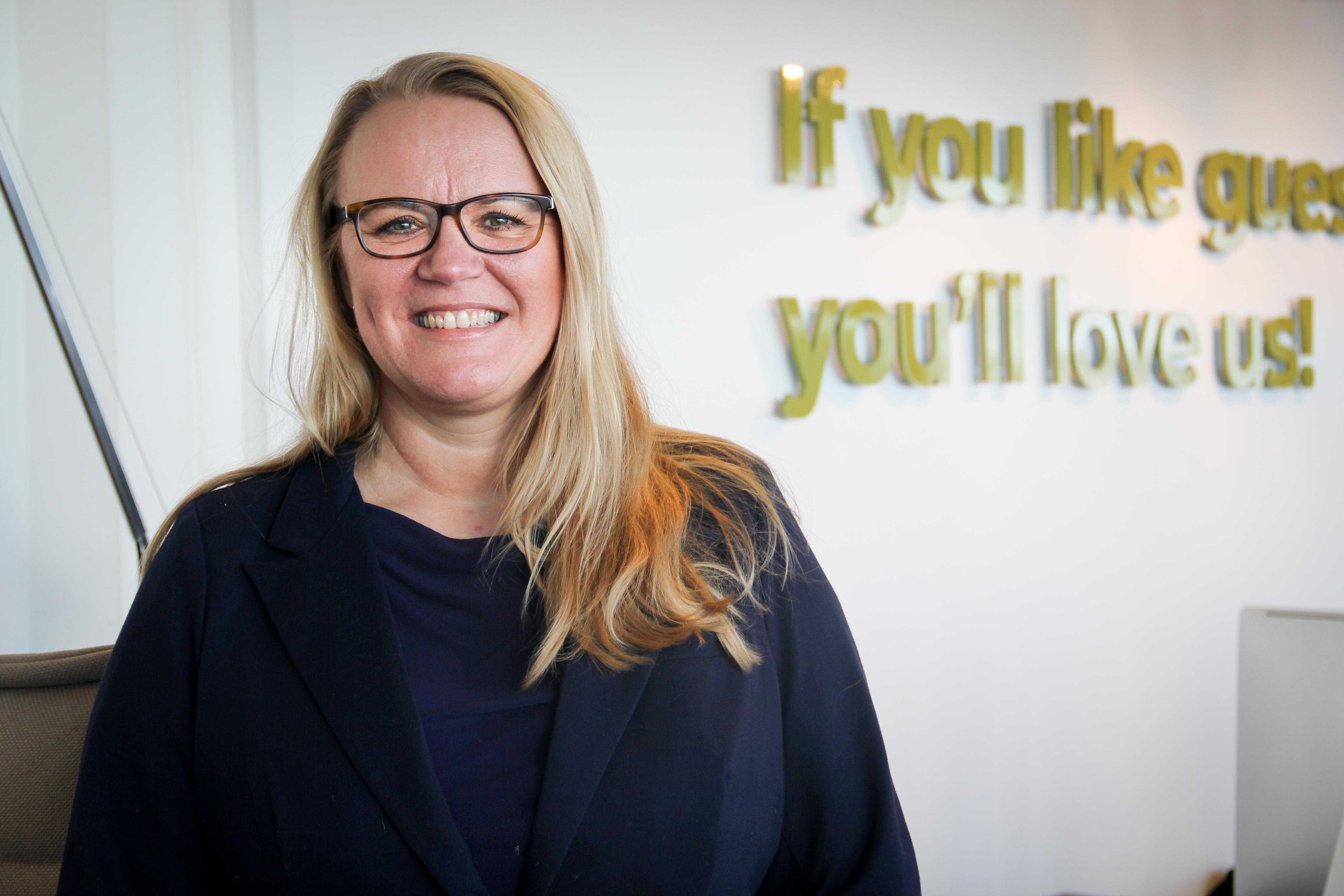 Anja Hartung Sfyrla skifter fra topjob i VisitDenmark for at blive partner i PR-bureauet Gottlieb & Co. i København. PR-foto.