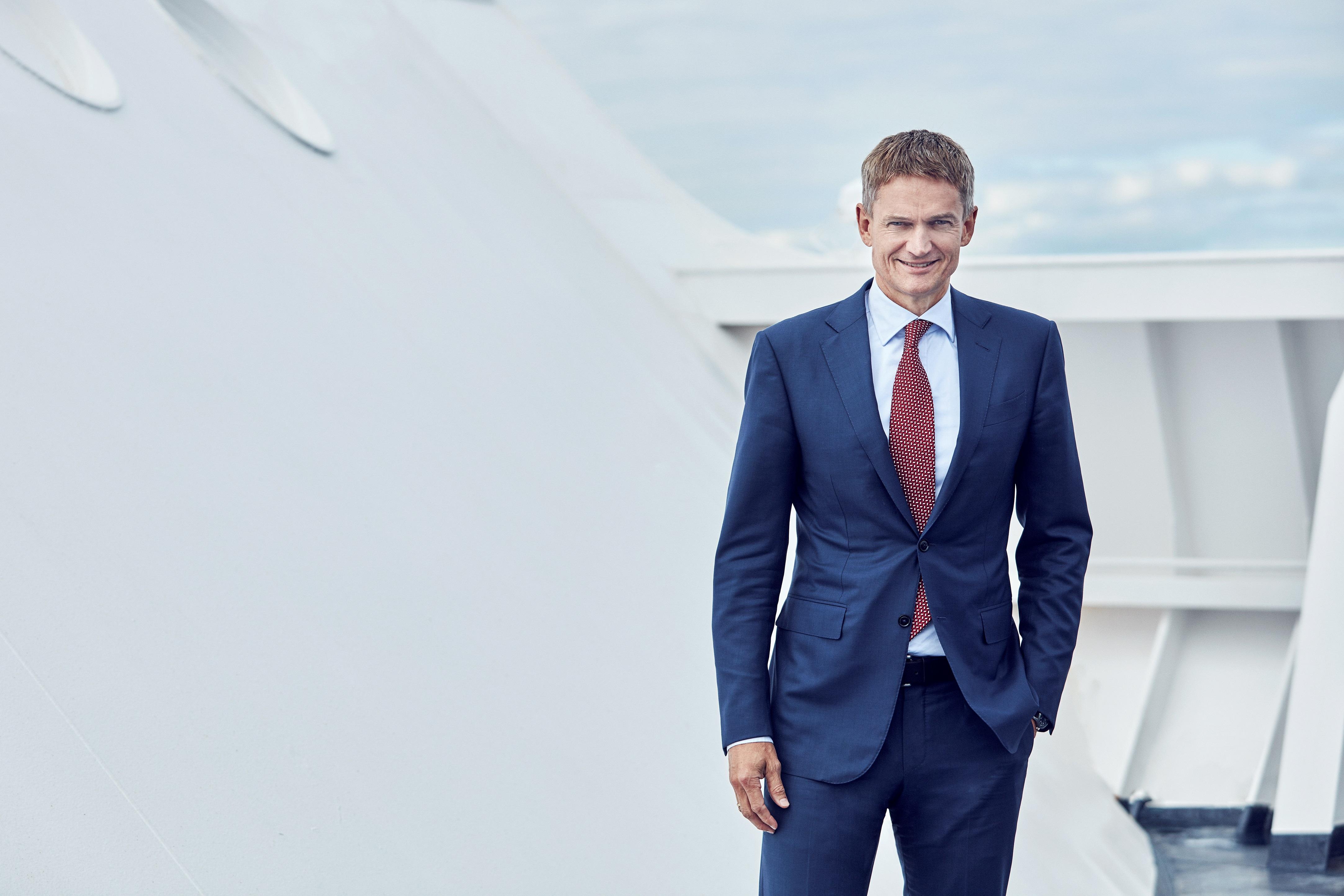DFDS får sin egen Styrmand Carlsen; Torben Carlsen bliver fra maj ny koncernchef for rederiet. Foto: DFDS.